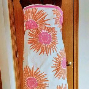 Strapless Summer Dress, Size 10, Tommy Hilfiger